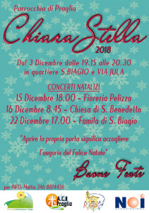 Locandina Chiara Stella 2018