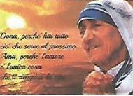 Caritas 2018 - Teresa calcutta